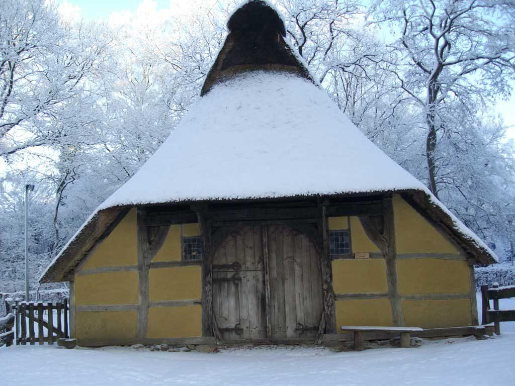 Historische Gebäude im Kurpark